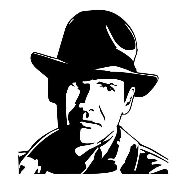 Stickers indiana jones france stickers for Indiana jones clipart