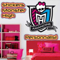 Stickers Monster High Personnalisé