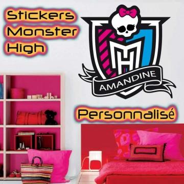Stickers Monster High Personnalisé