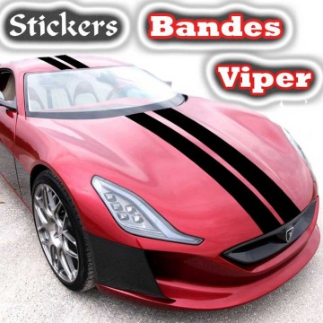 Sticker Tuning Bandes viper