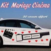 Stickers Mariage Cinéma