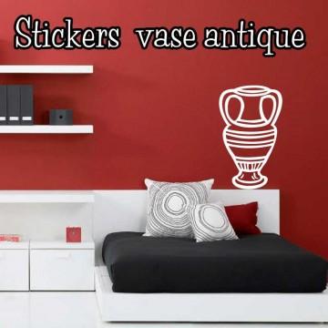 Stickers Vase Antique 2