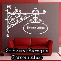 Stickers Baroque personnalisé