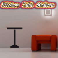 Stickers Table Moderne 1