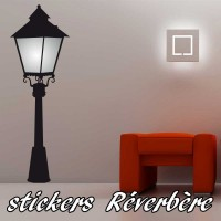 Stickers Réverbère Parisien 2
