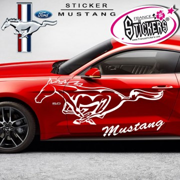stickers tuning voiture mustang pas cher france stickers. Black Bedroom Furniture Sets. Home Design Ideas