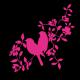 Stickers oiseaux so1