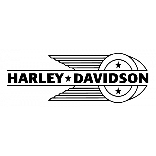 Harley Davidson Indian Logo Pochoir