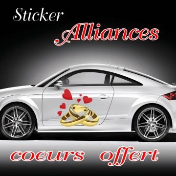 Stickers Alliances Mariage venu par 2