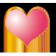 Stickers Cœur Mariage 3