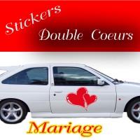 Stickers Mariage Cœur
