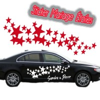 Stickers Mariage Étoiles