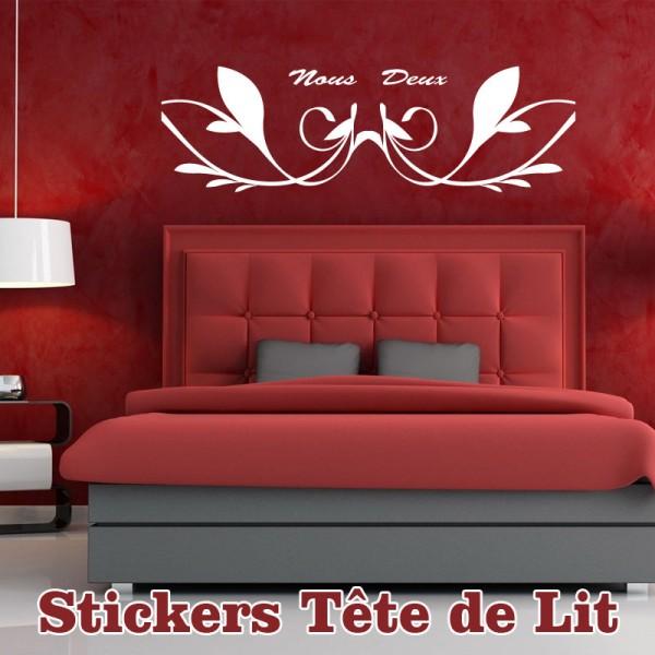 stickers tete de lit pas cher france stickers. Black Bedroom Furniture Sets. Home Design Ideas