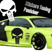 Stickers Punisher Skull