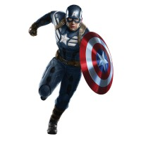 Stickers Captain America Avengers