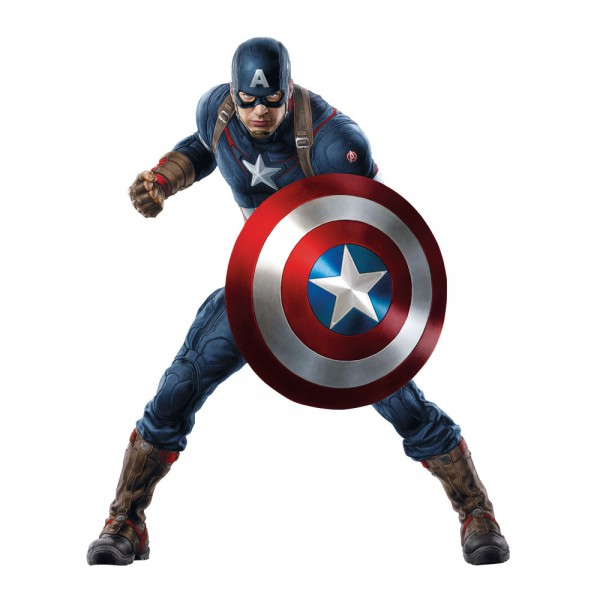 Stickers Captain America Avengers Pas Cher France Stickers