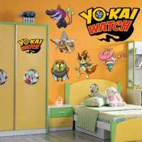 Stickers YoKai Watch planche