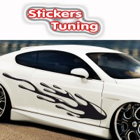 Stickers Tuning  par 2  stf14