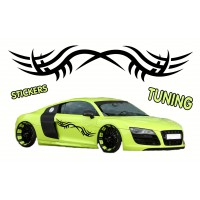 Stickers Tuning Tribal STT18