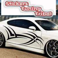 Stickers Tuning Tribal STT25 vendu par 2