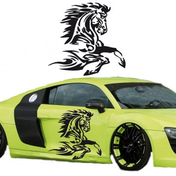 Stickers Tuning CHEVAL Tribal