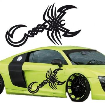 Stickers Tuning Scorpion vendu par 2