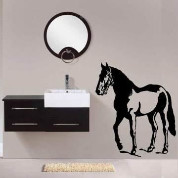 Stickers Cheval Texan 2