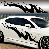 Stickers Tuning Flamme 54 vendu par 2