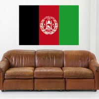 Stickers Autocollant drapeau Afghanistan