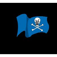 Stickers Drapeau de Pirate 5