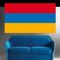 Autocollant stickers Drapeau Arménie