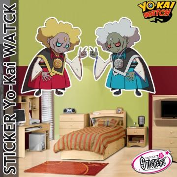 stickers yo kai watch kin gin. Black Bedroom Furniture Sets. Home Design Ideas