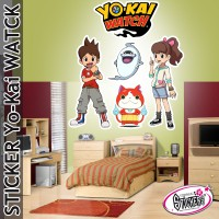 Stickers Yo-Kai Watch Kin-Gin
