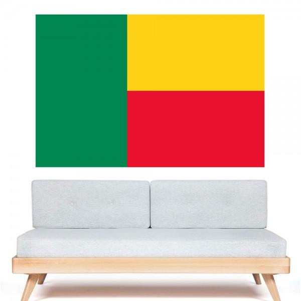autocollant stickers drapeau b nin pas cher france stickers. Black Bedroom Furniture Sets. Home Design Ideas