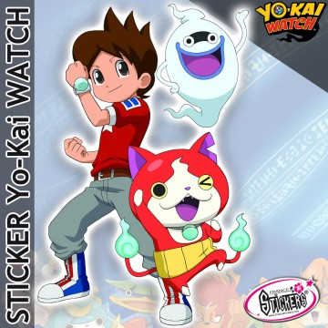 Stickers YoKai Watch Nate Whisper Jibanyan