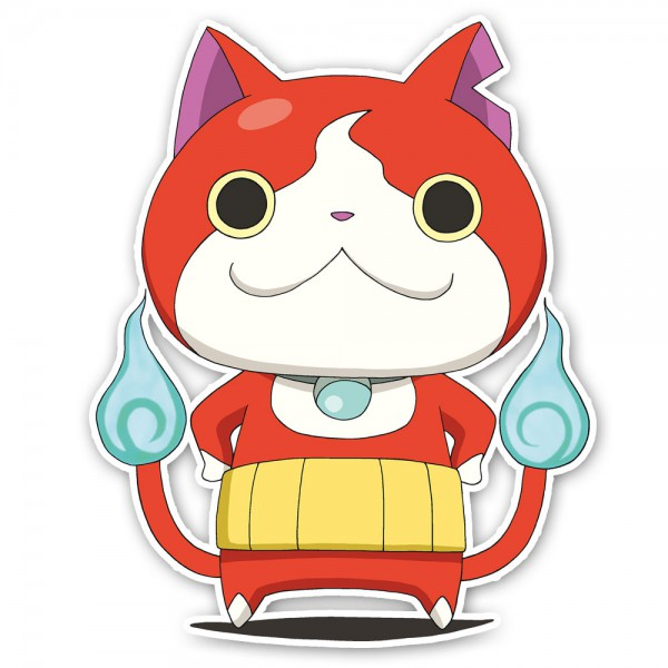 stickers yo kai watch jibanyan pas cher france stickers. Black Bedroom Furniture Sets. Home Design Ideas