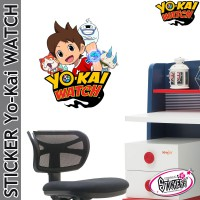 Stickers YoKai Watch Nate Whisper Jibanyan Komasan