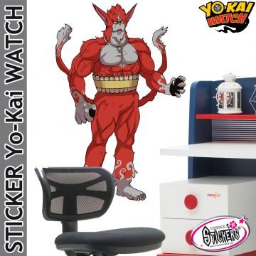 Stickers YoKai Watch Red J