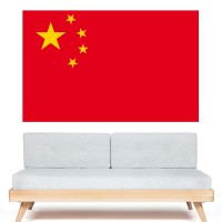 Autocollant Drapeau Chine
