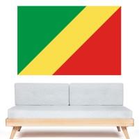Autocollant Drapeau République du Congo
