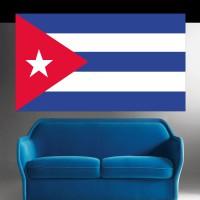 Autocollant Drapeau Cuba
