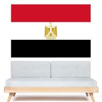 Autocollant Drapeau Égypte