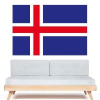 Autocollant Drapeau Islande
