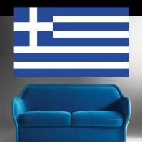 Autocollant Drapeau Grèce