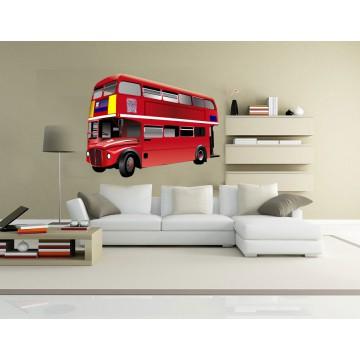 Stickers Bus Londres 2