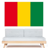 Stickers Autocollant Drapeau Guinée