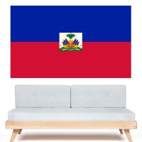 Stickers Autocollant Drapeau Haïti
