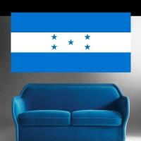 Stickers Autocollant  Drapeau Honduras