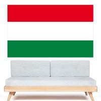 Stickers Autocollant Drapeau Hongrie