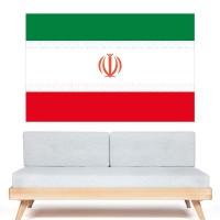 Stickers Autocollant Drapeau Iran